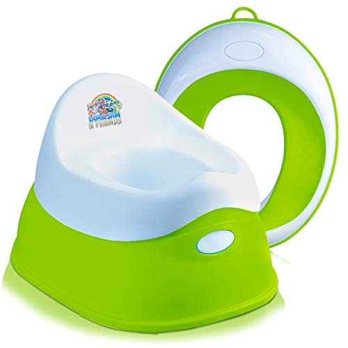 Lama Sam & Friends - vasino per bambini in 2 parti - Vasino da circa 18 mesi a circa 3 anni + seggiolino per bambini
