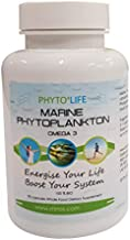 Marine Phytoplankton – Potent SuperFood – All-in-one Health/Nutritional Supplement –Rich in Vegan Omega 3 EPA– Boosts Energy and Improves Overall Health – Comes in a Pack of 90 Capsules