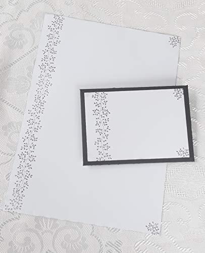 Trauerbriefpapier mit Umschlag