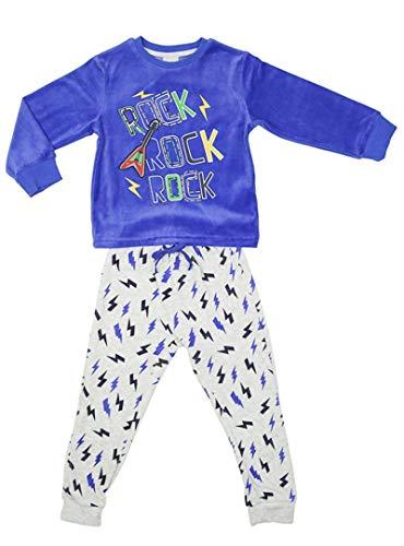 TOBOGAN - Pijama NIÑO TUNDOSADO niños Color: Royal Talla: 4