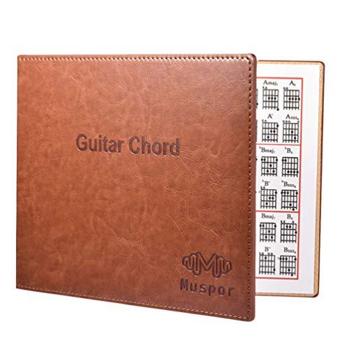 EXCEART Livro de Acordes de Guitarra Música Folclórica Caderno de Acordes de Guitarra para Instrumentos Musicais Acessório