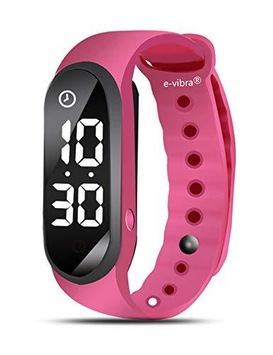 e-vibra Potty Training Watch - Silent Vibrating Alarm Reminder Watch - with...