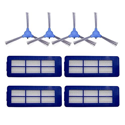 piao Piao Aspirador Cepillo Lateral HEPA Fit para Eufy Robovac G10 Robot híbrido Partes Accesorios Cepillos Laterales Reemplazo (Color: Set 2)