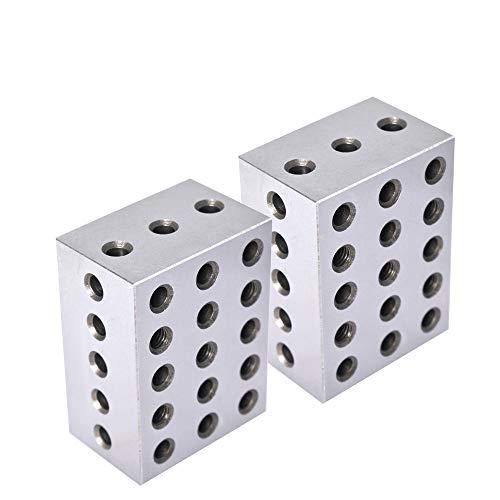 2-3-4 블록 짝지어진 쌍 23 홀(2X3X4) 234 정밀 지상 기계공 세트 업 블록 .0003 HRC 55-62