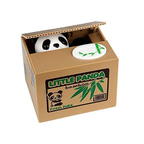 QWEA Hucha Panda para niños y Adultos Hucha con Pata de Panda...