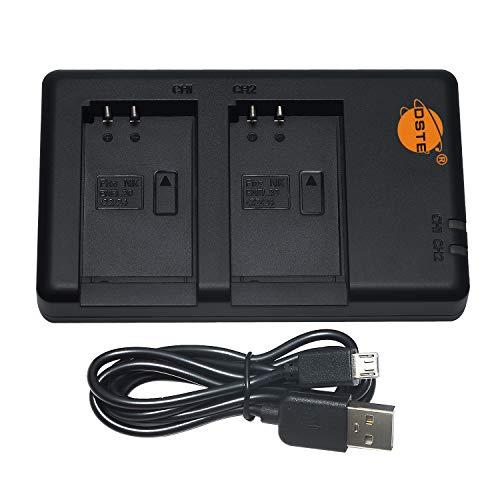 DSTE MH-27 MH-31 Batería USB Dual Quick Cargador Compatible para...