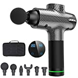 Massage Gun for Athletes, Portable Body Muscle Massager Professional Deep Tissue Massage Gun for...