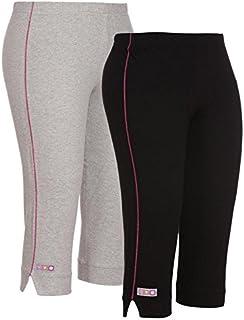 OCEAN RACE Women Cotton Capris Combo (3/4 th Pant)-Pack of 2