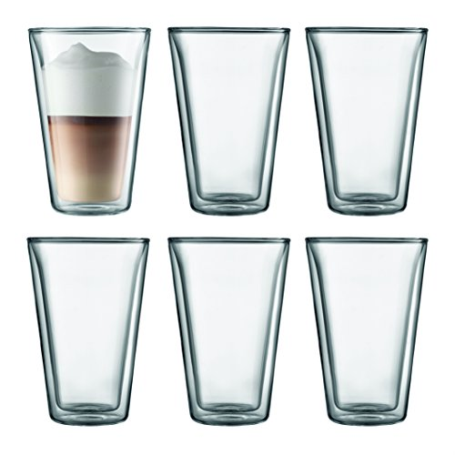 Bodum CANTEEN Gläser-Set (Doppelwandig, 0,4 liters) transparent
