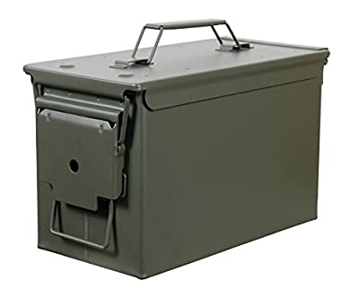 Fortress 50 Caliber Metal Ammo Can, 50 Cal