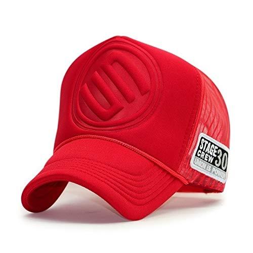 Adult Summer Sun Hats Men Cool Hiphop Rock Truck Cap Women Fashion Mesh Baseball Caps-A35