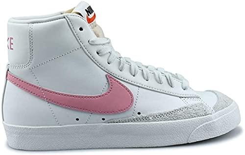 Nike W Blazer Mid '77, Zapatillas de bsquetbol Mujer, Summit White Sunset Pulse, 36 EU