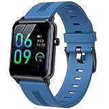 ZYY Smart Watch IP68 Impermeable Deportes Smartwatch Monitor De Ritmo Cardíaco Gimnasio Pulsera Bluetooth,B