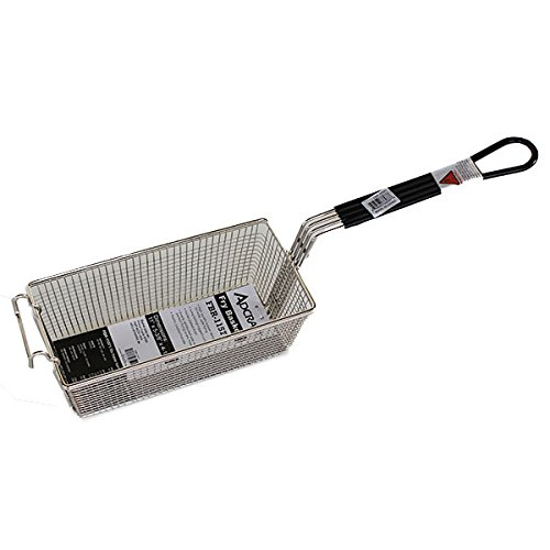 R&V WORKS Replacement Black Handle Basket for Cooking with Cajun Fryer