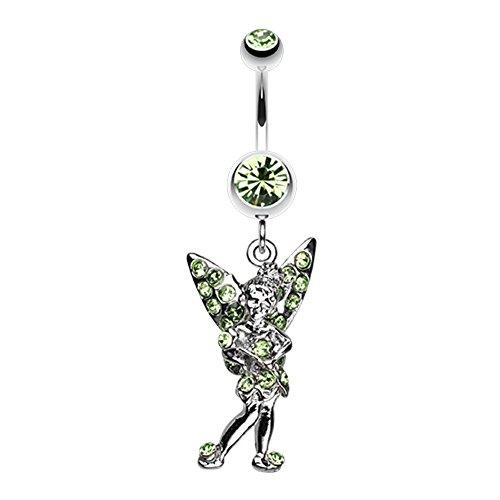 Tinker Bell Sparkle WildKlass Belly Button Ring