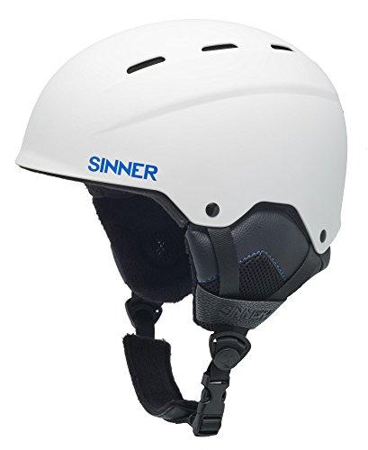 SINNER TYPHOON helmen, wit, S