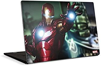 Skinit Decal Laptop Skin Compatible with Dell XPS 15in (2017) - Officially Licensed Marvel/Disney Watch Out for Ironman De...
