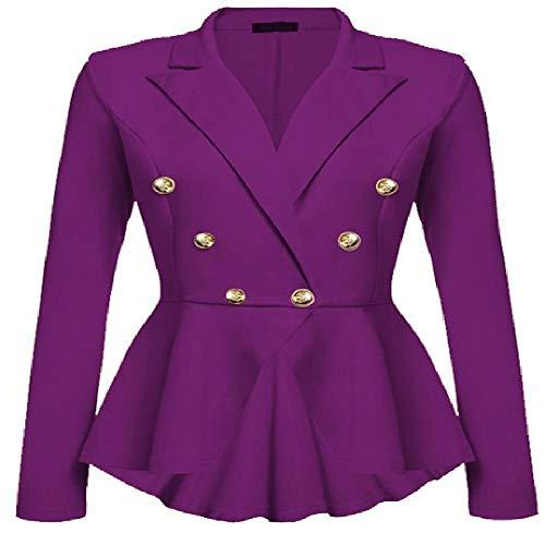 nobrand DamenjackeSommer Neue Temperament schlanke Falten Lange Ärmel dünne Zweireiher kleinen Anzug Blazer