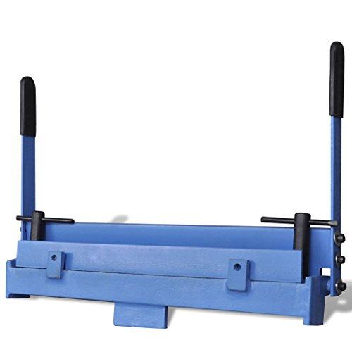 Galapara Abkantbank Blechbiegemaschine Kantbank Manuell Biegemaschine Blechbearbeitung, 450 mm max. Biegewinkel 95 °