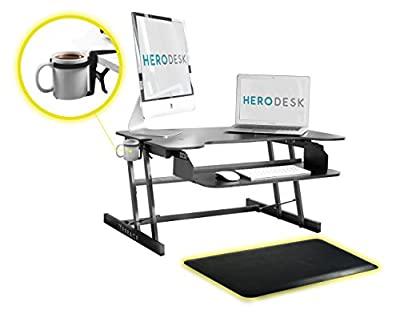 """Height adjustable Sit Stand desk - 30"""" x 20"""""""