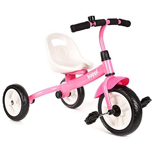 boppi Kinder-Dreirad / Dreirad mit Sitz und Pedalen für Kleinkinder - Rosa