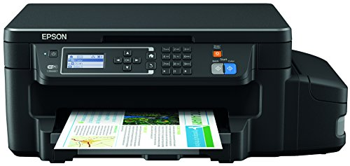 Epson EcoTank ET 3600 Stampante Inkjet Multifunzione, 3 in 1, Stampa Fronte Retro, Nero