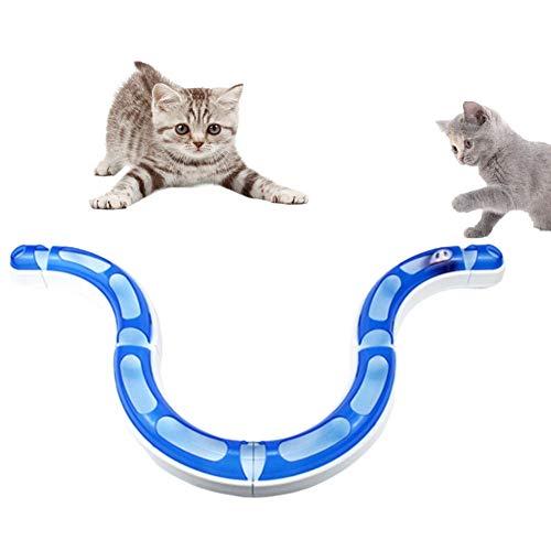 OUTANG Katzenspielzeug Beschäftigung Spielzeug Katze Katzen Zauberstab Katze...