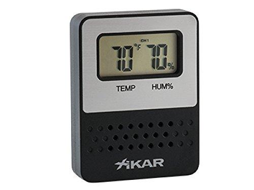Xikar Hygrometer II PuroTemp™ Digital Hygrometer Wireless Remote Sensoreinheit inkl. Lifestyle-Ambiente Tastingbogen