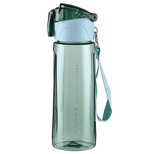 Chanety,taza de agua aislada,taza de agua 600-850ml Botella de deporte creativo Botella de succión Contenedor de bebidas Drop Botella de agua Escala portátil Tazas de plástico taza de agua plegable