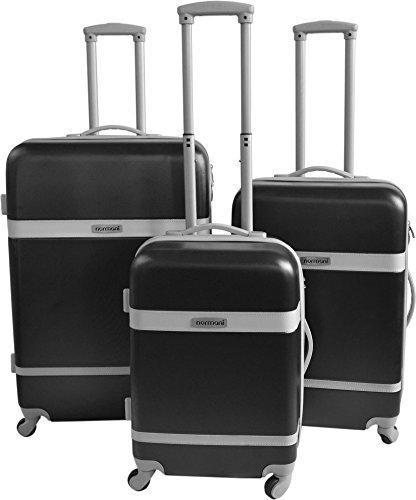 normani ABS Hartschalen Koffer Set Ausführungen Farbe Ribbon/SCHWARZ