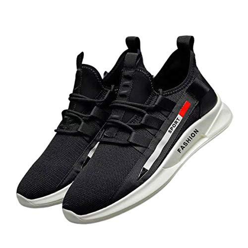 Zapatos de Hombre Zapatos de Red Transpirables de Verano de Moda Zapatos Deportivos Masculinos Zapatos Ligeros para Correr para Hombres