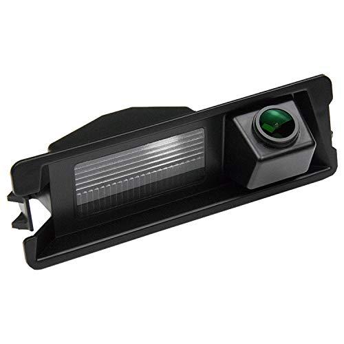 HD 1280x720p Telecamera per la Retromarcia Retrocamera, CCD telecamera posteriore in luce targa visione notturna impermeabile per Nissan March Renault Logan Sandero/Dacia Sander Stepway