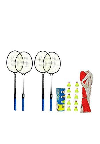 Manco Badminton Kit Racket Aluminum Indoor Outdoor Sports...