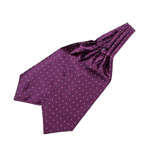 ZorYer Krawattenschal Herren Krawatte Krawatten für Männer Hals Krawatte Gravata Krawatte Ascot Party Geschenk Blume Hochzeit Cravate S810-C