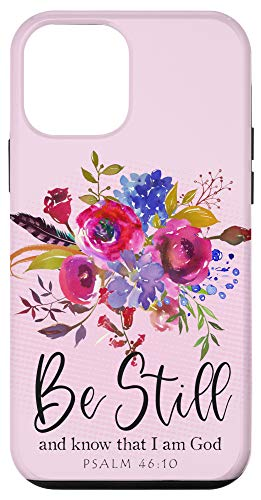 iPhone 12 mini BE STILL Christian Bible Verse Scripture Psalm Proverb Quote Case