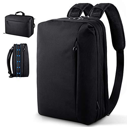 Beschoi 15 Zoll Laptop Rucksack Schulrucksack Laptoptasche Damen und Herren für Schule Uni Arbeit Büro Alltag Freizeit