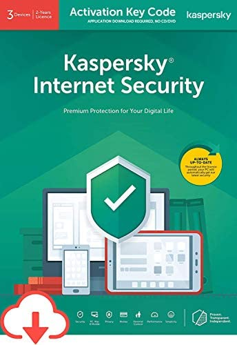 Kaspersky Internet Security 2020 3 Devices 2 Years PC Mac Android Activation Code by Email Download product image