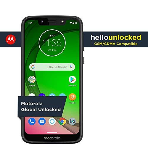 2 - Moto G7 Play with Alexa Push-to-Talk – Unlocked – 32 GB – Deep Indigo (US Warranty) – Verizon, AT&T, T–Mobile, Sprint, Boost, Cricket, & Metro