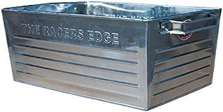 STP スチールボックス S 30cm シルバー 収納ボックス 取っ手付き 収納ケース 金属 インダストリアル ブリキボックス オールドアメリカン 西海岸風 インテリア アメリカン雑貨