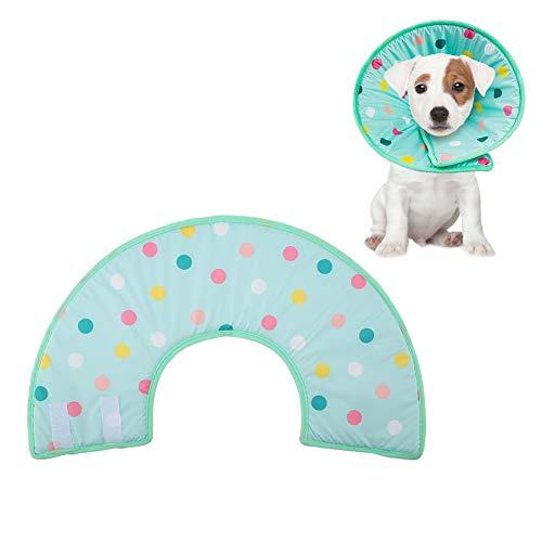 エリザベスカラー 犬用 猫用 犬エリザベスカラー 柔らかい 傷口保護 傷舐め防止 引っ掻き防止 術後服着替え(XL)