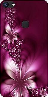 Amagav Designer Printed Back Cover for Vivo V7 Plus(Purple)