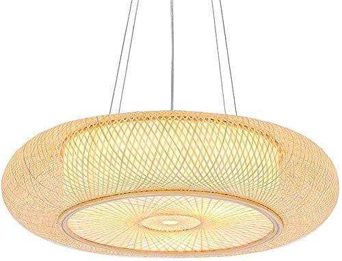 Iluminación iluminación de la lámpara de techo de mimbre retro iluminación de la lámpara de cúpula,Brown