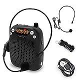 Mini Microfono Bluetooth Amplificatore Vocale Altoparlante Portatile Ricaricabile, Insegnante Amplificatore Vocale Cablato