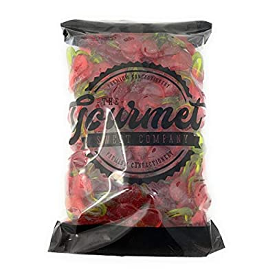 haribo happy cherries 1kg share bag by the gourmet sweet company Haribo Happy Cherries 1kg Share Bag by The Gourmet Sweet Company 41zH7IuZHNL