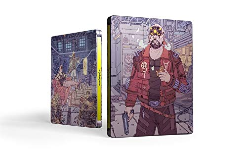 Cyberpunk 2077 with Steelbook (Exclusive to Amazon.co.uk) (PS4)