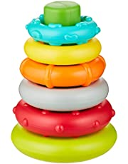 Infantino Rock'N Stack Rings  Baby Activity , Learning & Developing Toys 