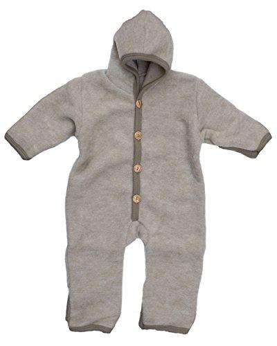 Cosilana, NEU Baby Fleece Overall mit Umschlag, 60% Schurwolle (kbT), 40% Baumwolle (KBA)
