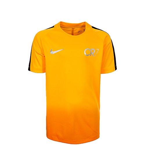 Nike CR7y Dry SQD SS GX Camiseta Línea Cristiano Ronaldo, niños, amarillo