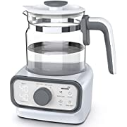Baby Instant Warmer | Bottle Warmer | Formula Dispenser | Electric Kettle with Accurate Temperature Control for Formula, Coffee and Tea, 1.3 Liter with LCD Display and Timer, Auto Shut-Off and Boil-Dry Protection