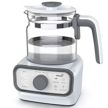 Baby Instant Warmer Glass Water Boiler with Accurate Temperature Control for Formula Coffee and Tea 1.3 Liter Electric Kettle with LCD Display and Timer